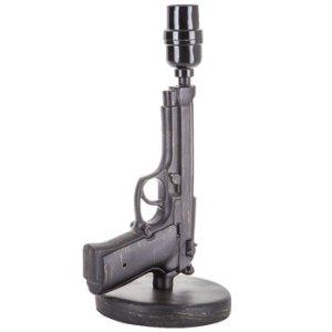lampe en forme de pistolet