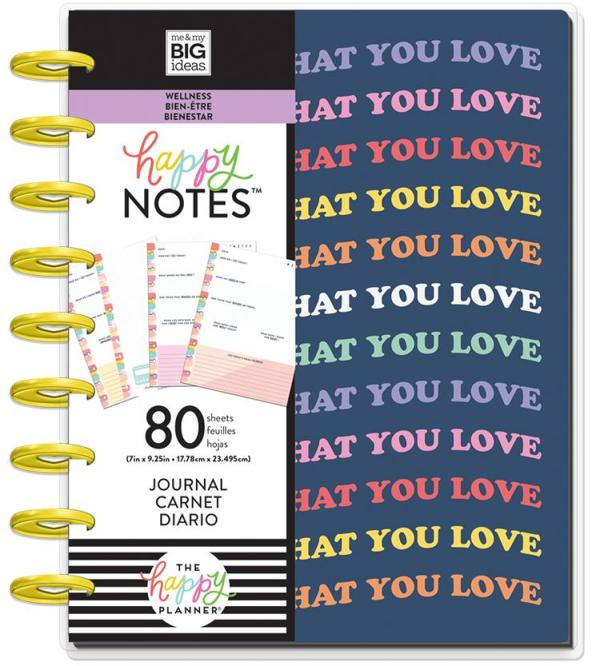 Happy Planner Wellness Create what you love