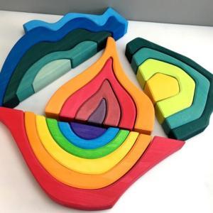 Puzzle en bois - 4 éléments