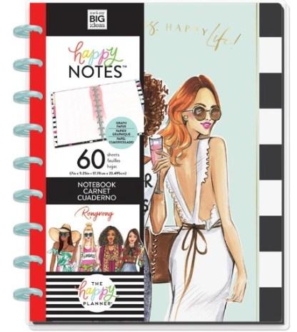 Happy Notes Quadrillé à points - Happy Vies Happy Life