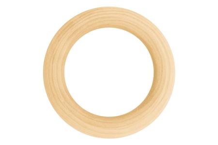 anneaux de bois naturel