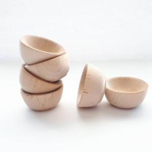 Petits bols en bois d'érable