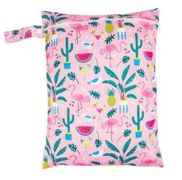 Moyen Wet Bag Flamingo