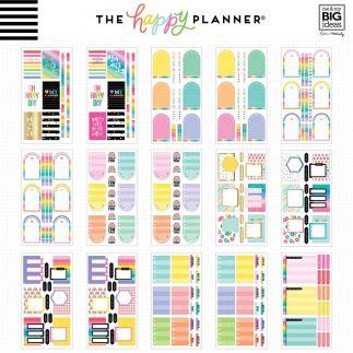 Happy Planner - 3888 autocollants