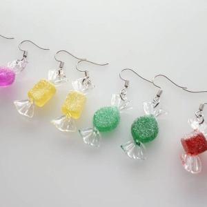 Boucles d'oreilles - bonbons sucrées