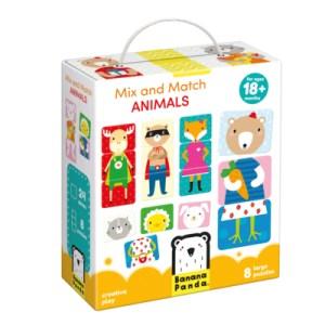 Mix And Match Animals