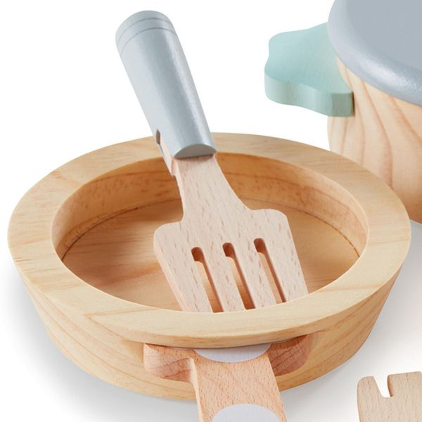 Ensemble de cuisson en bois
