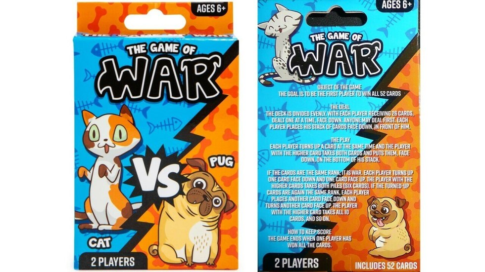 The Game of War: Cat vs Pug