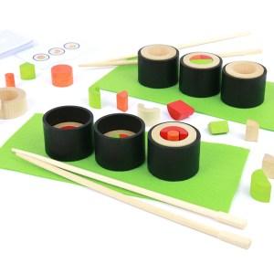 Jeu Sushi en bois - Make a maki