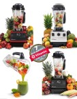 Vitamix TNC 5200 - 4 squares 3 colors