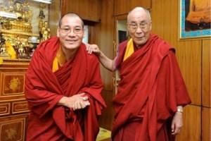 Phakyab et le Dalai Lama