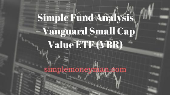 Simple Fund Analysis – Vanguard Small Cap Value ETF (VBR) simple money man