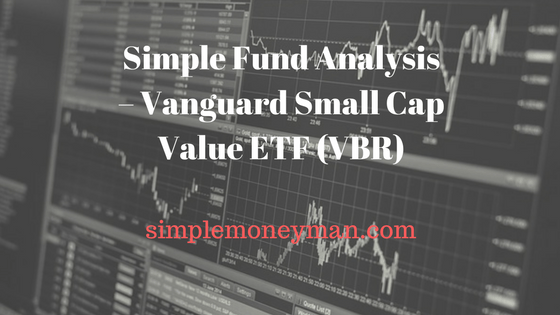 Simple Fund Analysis – Vanguard Small Cap Value ETF (VBR) simple money man