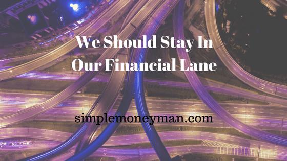 financial lane simple money man