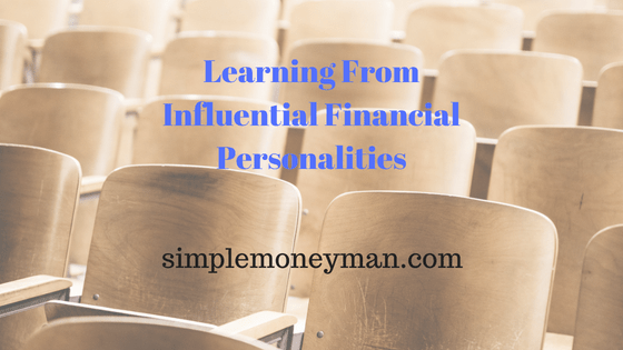 Learning From Influential Financial Personalities simple money man