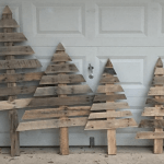 How To Make Christmas Trees From Wooden Pallets Simplemost