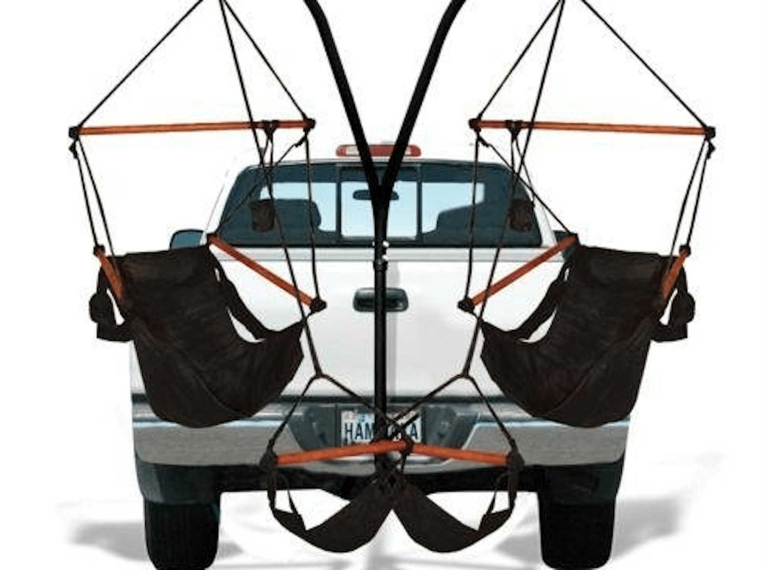 Trailer Hitch Allows You To Attach Hammocks To Truck