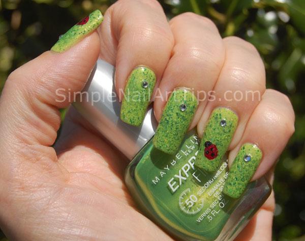 Ladybug Nail Art Tutorial 3 Simple Lovely