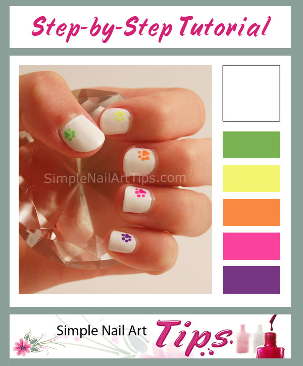 Rainbow Paw Nail Art Tutorial E1338359319615 150x150 Simple Sweet Prints