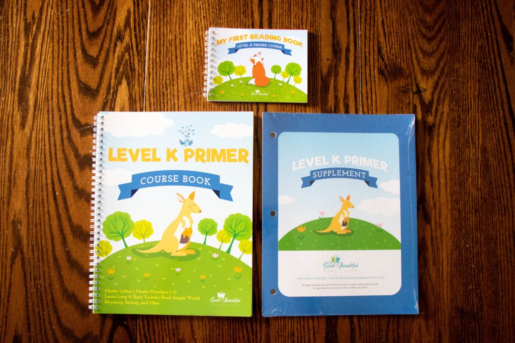 The Good and The Beautiful Level K Primer Curriculum