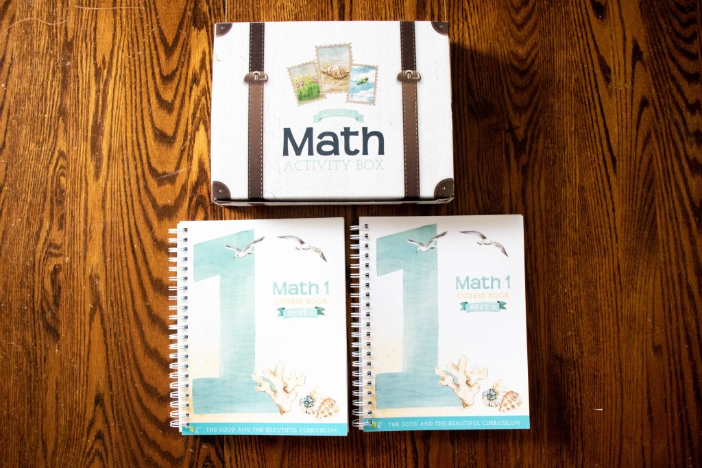 First Grade The Good and The Beautiful Math Level 1 Curriculum