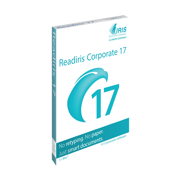 ReadIRIS 17 Corp for Mac