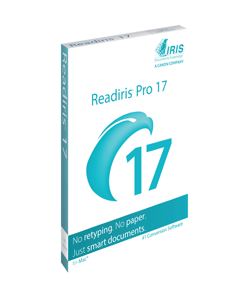 ReadIRIS 17 Pro Mac Box