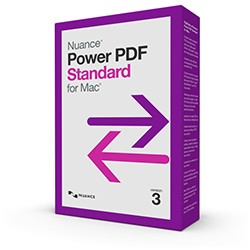 Nuance Power PDF Standard for Mac