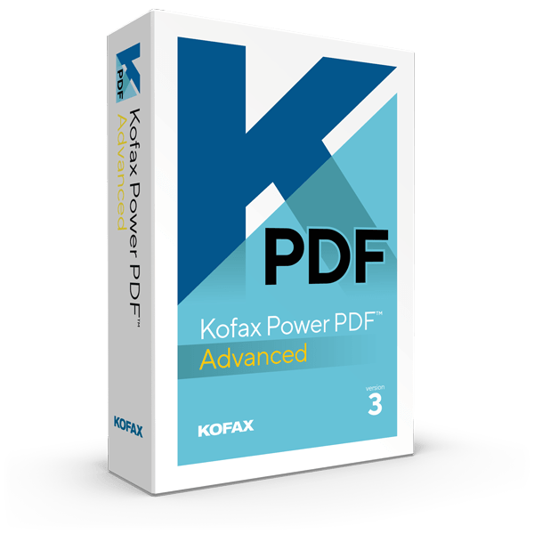 Kofax Power PDF Advanced