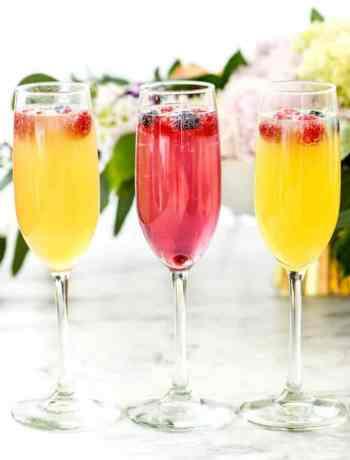 SIMPLE Classic Mimosas