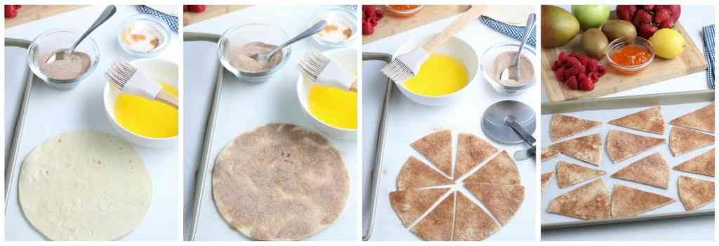 How to make cinnamon tortilla chips