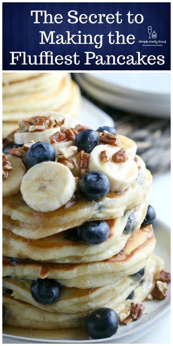 SIMPLE Buttermilk Pancakes