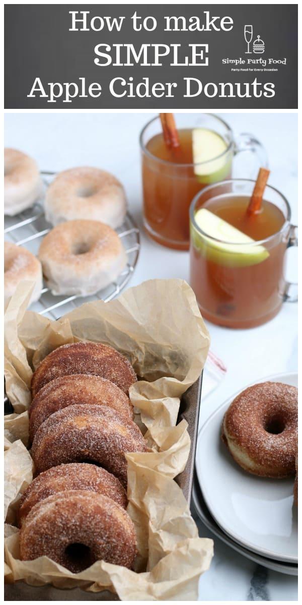 SIMPLE Apple Cider Donuts