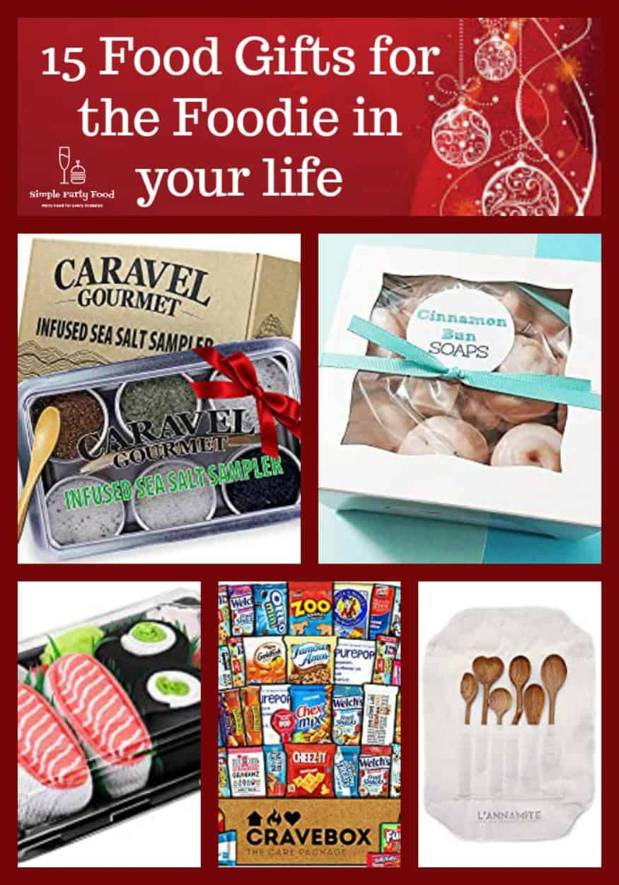 15 Food gifts to give this year