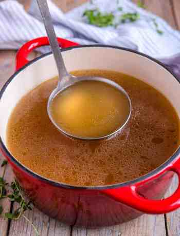 How to make restaurant quality chicken stock