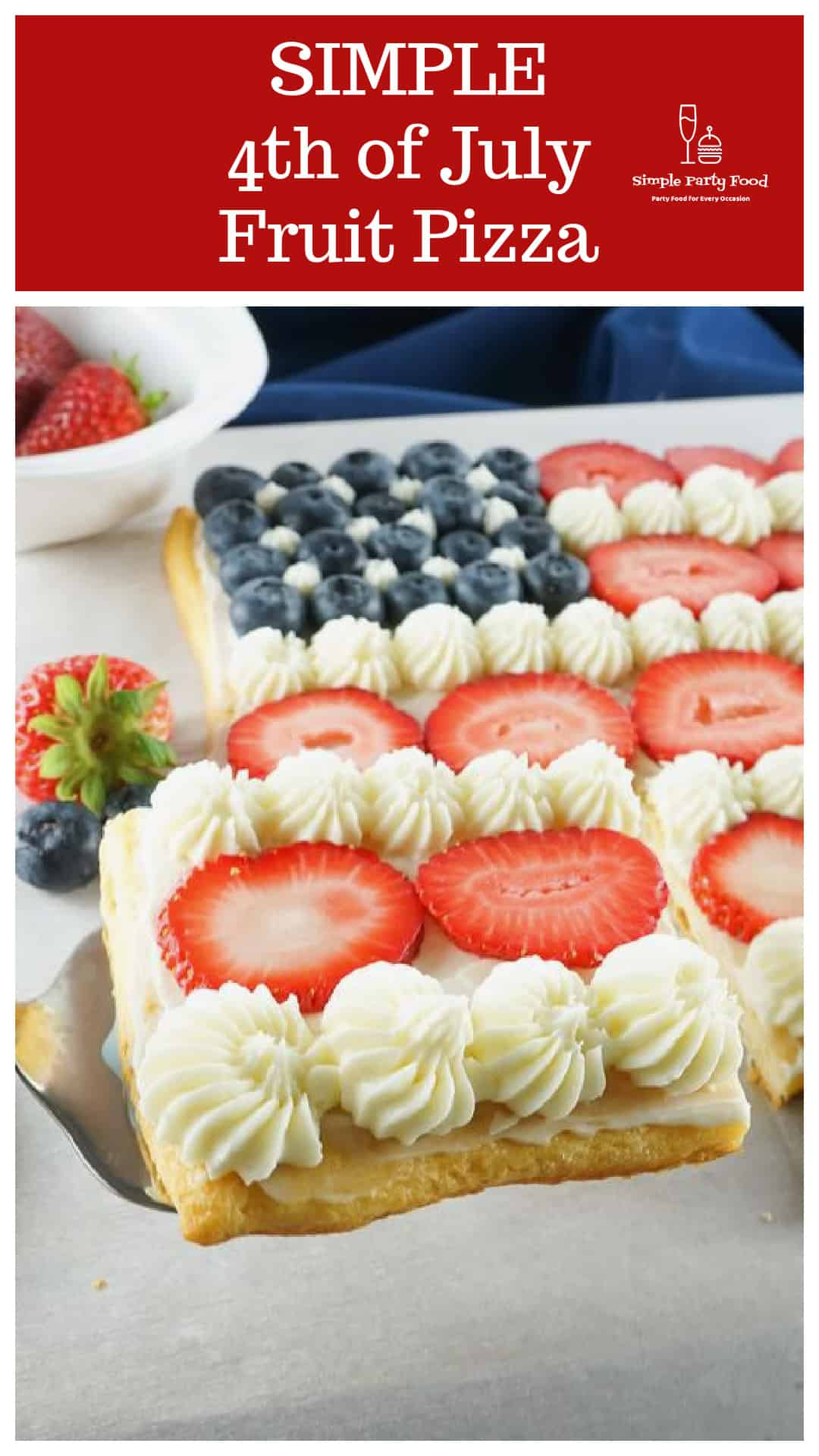 SIMPLE-4th-of-July-Fruit-Pizza-cream-cheese-frosting-fresh-strawberries-and-blueberries