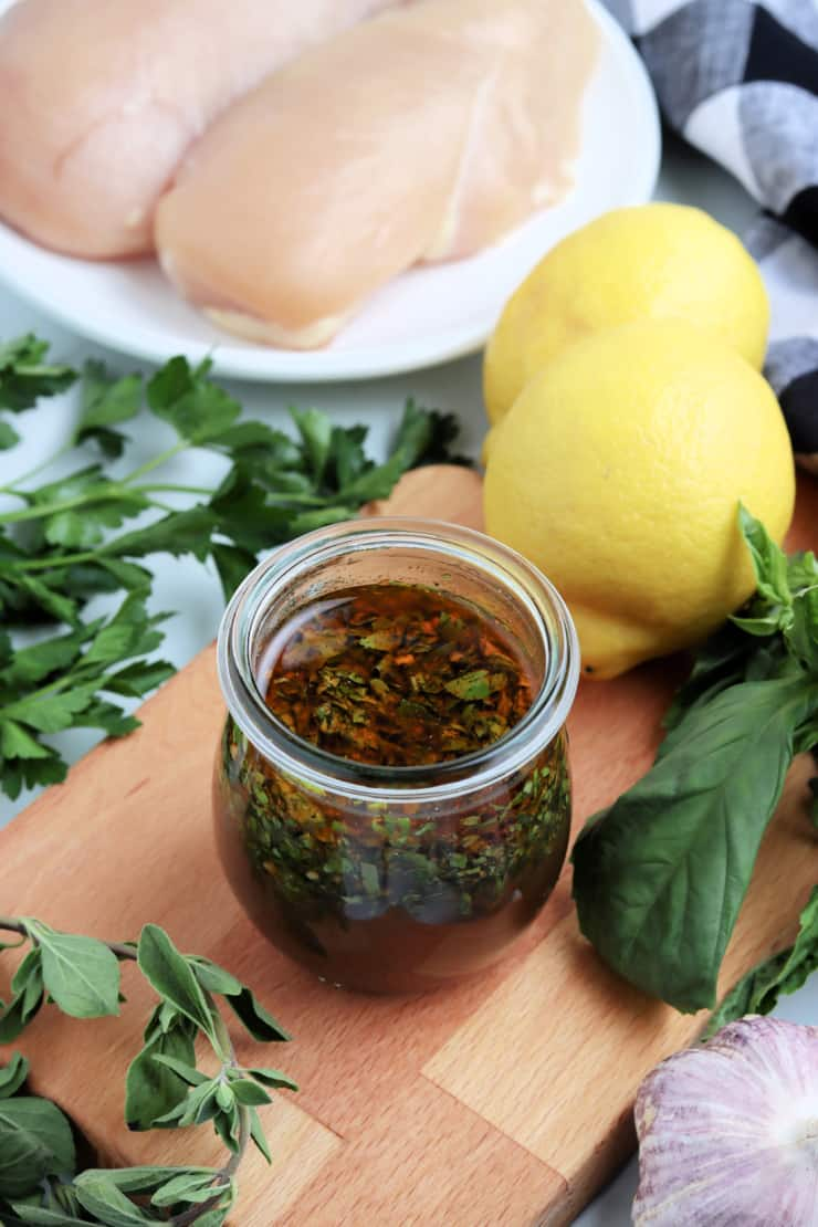 SIMPLE Grilled Chicken Marinade - perfect for everyday chicken recipes