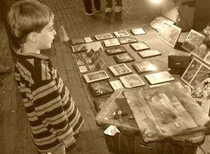 Observing Art Creation With Your Child