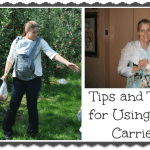 Baby Carrier Tips