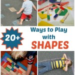20+ Ways to Play With Shapes