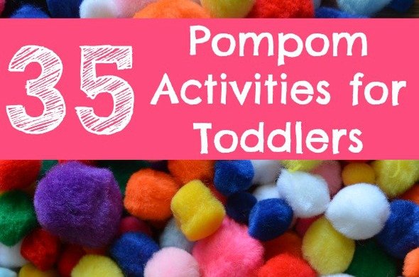 Pom pom activities that Toddlers will LOVE!