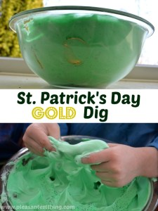 St. Patrick's Day Activity: Coin Dig!