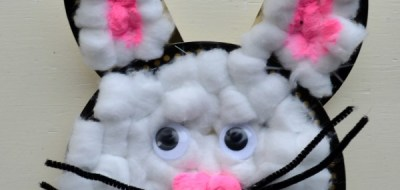 Paper Plate Bunny Craft