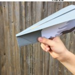 Paper Airplane Game for Sight Words