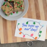 Holiday Treat Time! Gift Tag and Oatmeal Bars