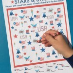 Stars and Stripes I Spy Game