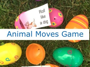 Gross Motor Animal Game