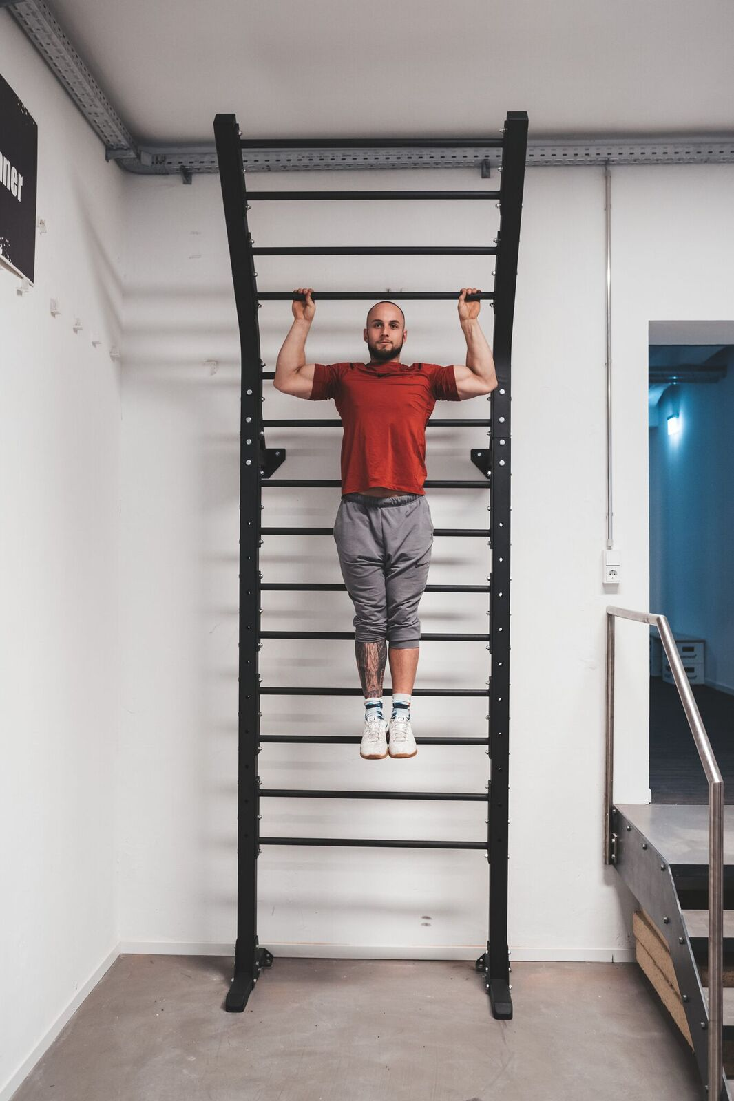 power rack flying pull up sprossenwand sqmize sq480fpl