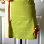 $5 Christmas Dishtowel Apron Tutorial