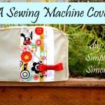 A Sewing Machine Cover